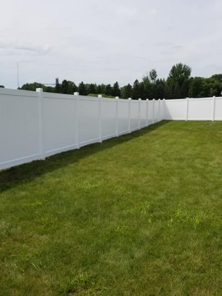 Chain Link Wood Privacy Fence Installer Landscaping Hardscapes